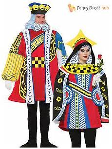 mens king of hearts costume card in