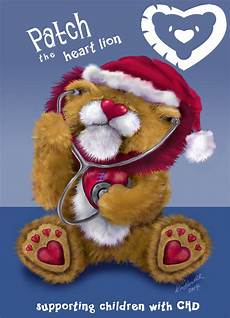 patch the heart lion wishes everyone a very merry christmas and a wonderful 2015 sending