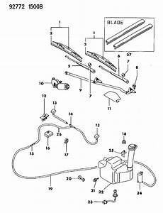 service and repair manuals 1992 dodge stealth windshield wipe control 1992 dodge stealth windshield wiper washer system