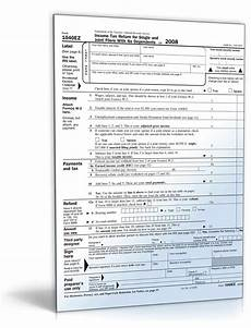 2008 1040ez income tax return for single and joint filers