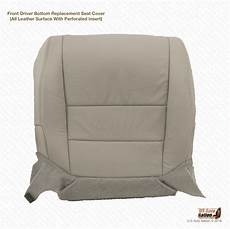 for 2007 acura tl driver bottom replacement perforated seat cover gray ebay