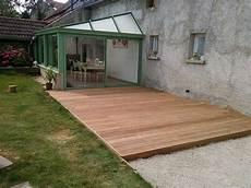 R 233 Alisation D Une Terrasse En Bois Exotique Pr 232 S De