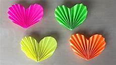 herz basteln mit papier diy geschenke selber machen