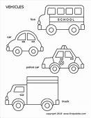 Cars And Vehicles  Free Printable Templates & Coloring