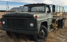 1968 FORD FLATBED F600 52983 MILES For Sale  Ford