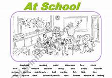 pictorial composition worksheets 22726 picture composition at school esl worksheet by urieth