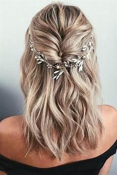 20 medium length wedding hairstyles for 2021 brides