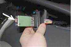 fix your renault modus heater blower resistor problem in