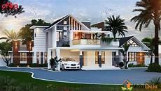 2909 square feet double floor contemporary home design
