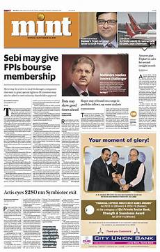 blog india s mint goes broadsheet 215 garc 237 a media
