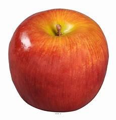 Pomme Artificielle Jaune Avec Leste D 7 50 Cm