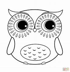 easy owl coloring page free coloring page printable owl