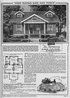 sears harmony 1920 3056 13056 bungalow floor plans