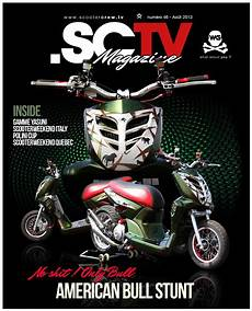 magasin scooter news sctv custom scooter magazine august edition free