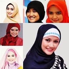 Model Jilbab Modern Untuk Wajah Bulat Terbaru