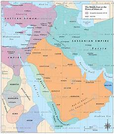 the middle east at the dawn of islam 628