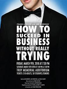 how to succeed in business without really trying at troy area jr sr high school performances