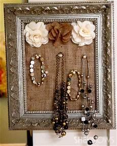 easy diy framed jewelry holder sheknows