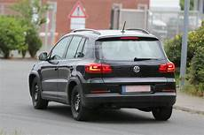Spyshots All New 2015 Volkswagen Tiguan Will Be Wider