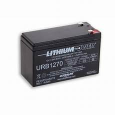 lithium ionen akku 12v ultralife urb1270 12v 7ah lifepo4 lithium akku 13 2v