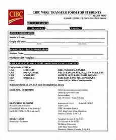 bank transfer receipt template free 10 sle wire transfer forms pdf