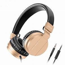 Augienb Wired Earphone Stereo Bass by C3 Wired Headphones With Microphone Bass 3 5mm On Ear