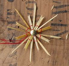 how to make straw ornaments