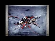 tableau peinture abstraite acrylique demonstration vid 233 o hd peinture abstraite