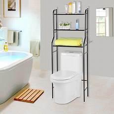 yosoo bathroom space saver 3 tier iron toilet towel