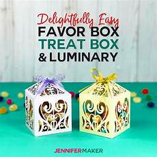 diy favor boxes treat boxes paper luminaries maker
