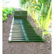 chemin bois jardin votre chemin de potager en plastique 224 d 233 rouler 3 m jardin