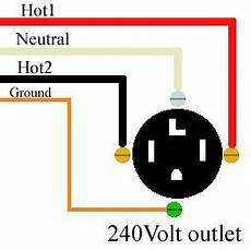 how to wire 240 volt outlets and plugs electronic symbols in 2019 home electrical wiring