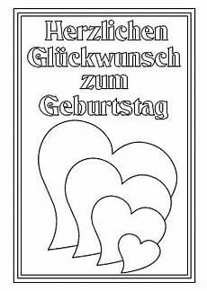 Ausmalbilder Geburtstag Herz Happy Birthday Schriftzug Zum Ausdrucken Etsy Bild