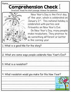 january no prep math and literacy 1st grade reading in kindergarten reading comprehension