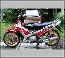 Modifikasi Motor Shogun 110 Kebo by Gambar Modifikasi Shogun Kebo 110 Trail Road Race Ceper
