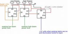 Headlight Wiring Diagram 2 by Headlight Relays Diagram Included