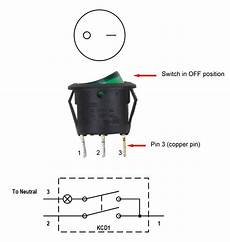 3 Pin Rocker Led Switch Wiring Diagram Buscar Con
