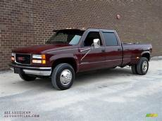 all car manuals free 1997 gmc 3500 electronic toll collection 1997 gmc sierra 3500 sle crew cab 4x4 dually in dark hunt club red metallic photo 3 029682