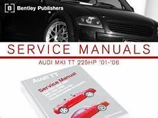 how to download repair manuals 2005 audi tt transmission control ecs news audi mki tt bentley service manuals
