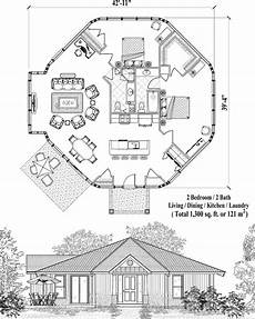 small octagon house plans online house plan 1300 sq ft 2 bedrooms 2 baths