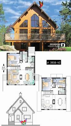 ski chalet house plans a frame ski chalet three bedroom two bathroom rustic