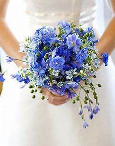 just blue flower ideas and forget me not bouquet