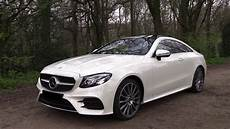 2018 Mercedes E Class Coupe E400 Amg Test Drive In