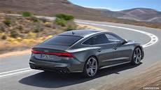 best 2019 audi s7 engine performance and new engine 2019 audi s7 sportback tdi color daytona grey rear