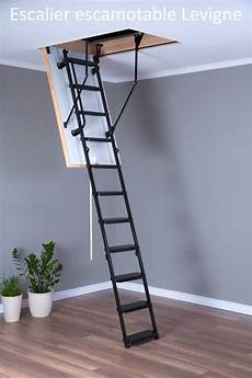 escalier escamotable aluminium avec trappe nos escaliers escamotables ets jean louis levigne