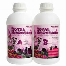 jual nutrisi hidroponik royal hidroponik paket bunga dan tanaman hias di lapak klinik