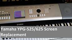 yamaha ypg 525 yamaha ypg 525 625 screen replacement