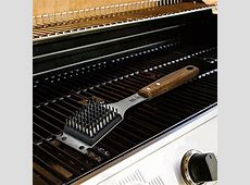Barbecue Grill Brush and Scraper   Extended, Large Wooden