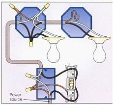 how to connect multiple light fixtures to one switch electrical home electrical wiring