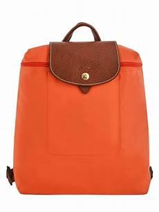 sac dos longch le pliage orange en vente au meilleur prix